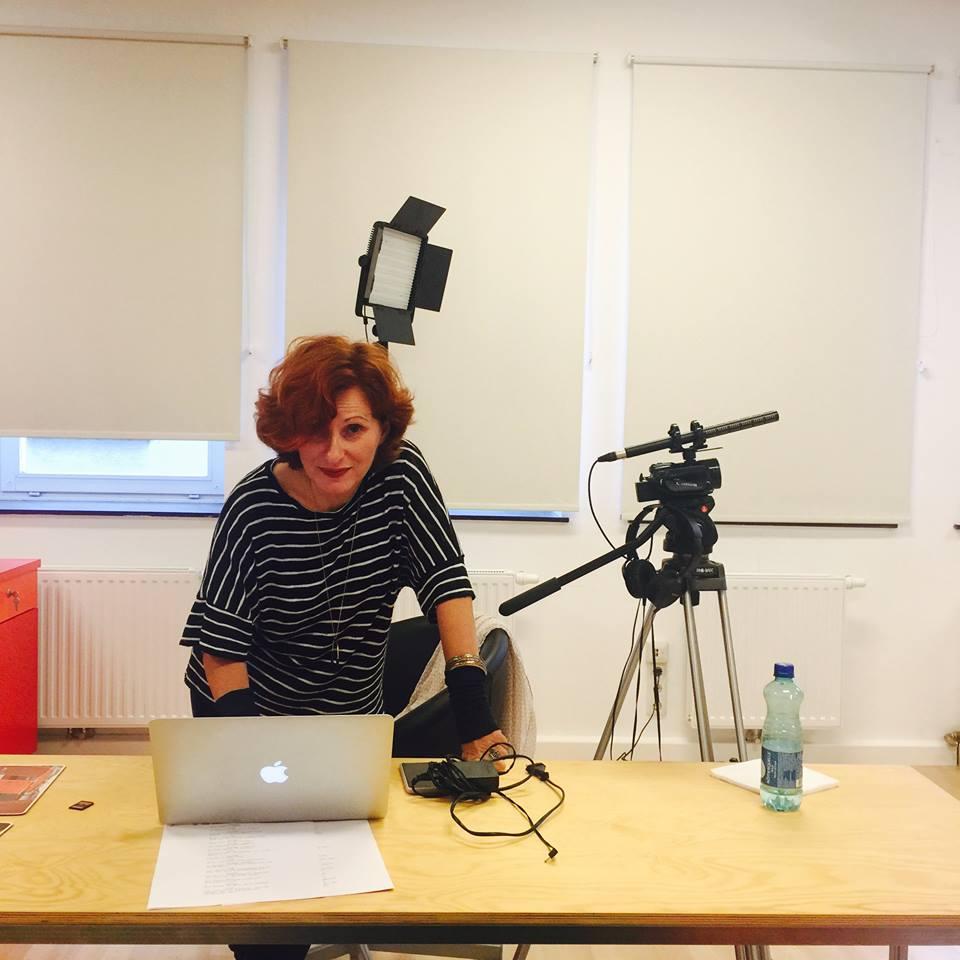 Rita Waszilovics beim Casting für Der Boden unter den Füßen © Marie Kreutzer