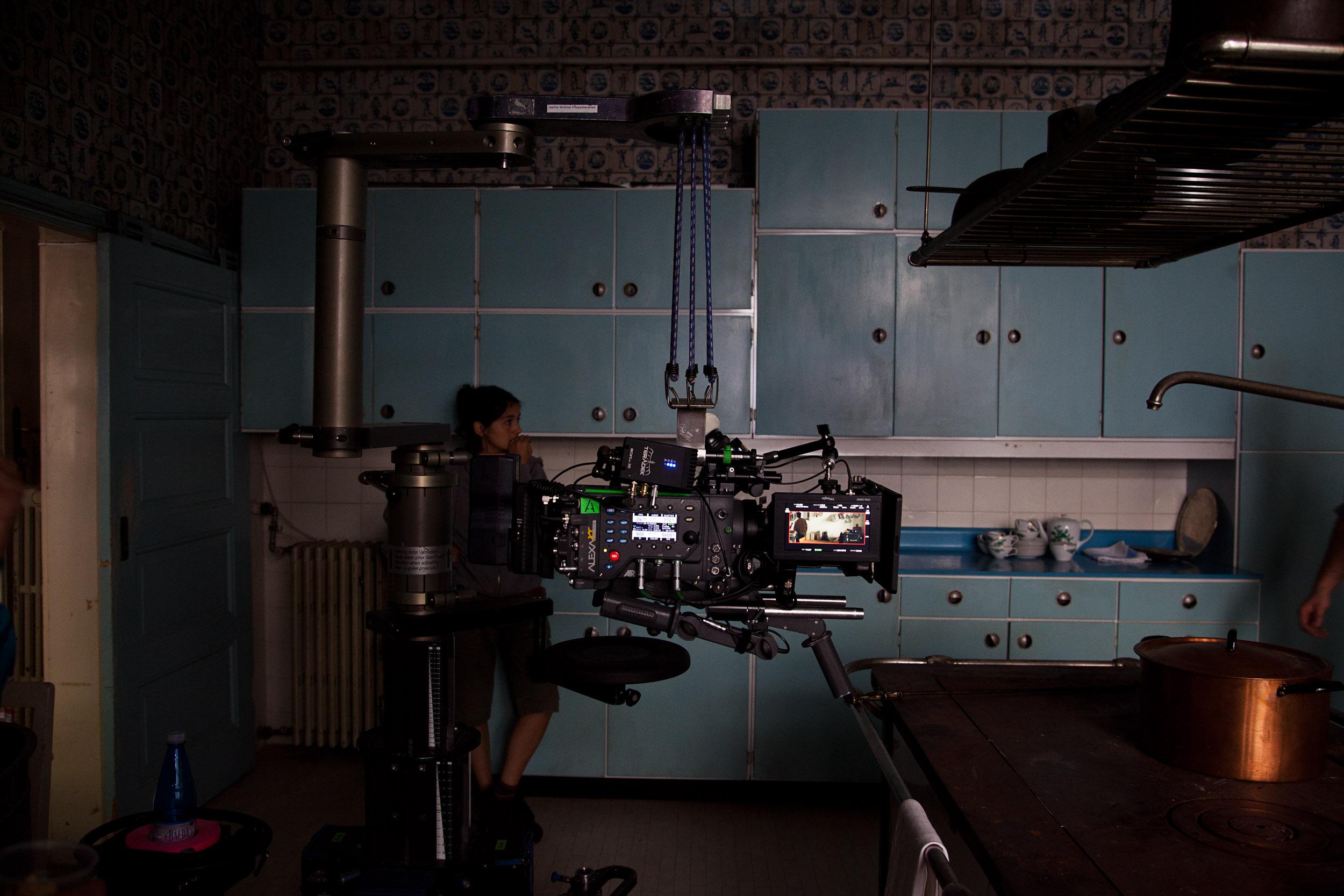 Am Set von Maikäfer Flieg © KGP Film / Oliver Oppitz