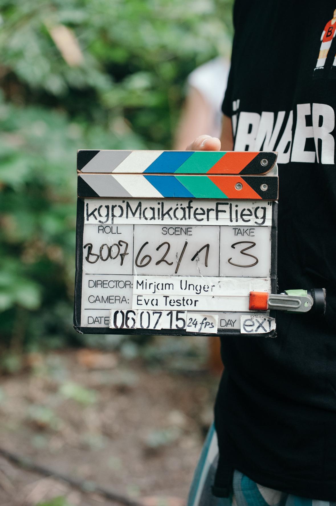 Am Set von Maikäfer Flieg © KGP Film/ Lisa Hinder