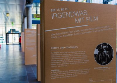 Ausstellungsansicht FH St. Pölten © Carola Berger