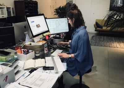 Produktionskoordinatorin