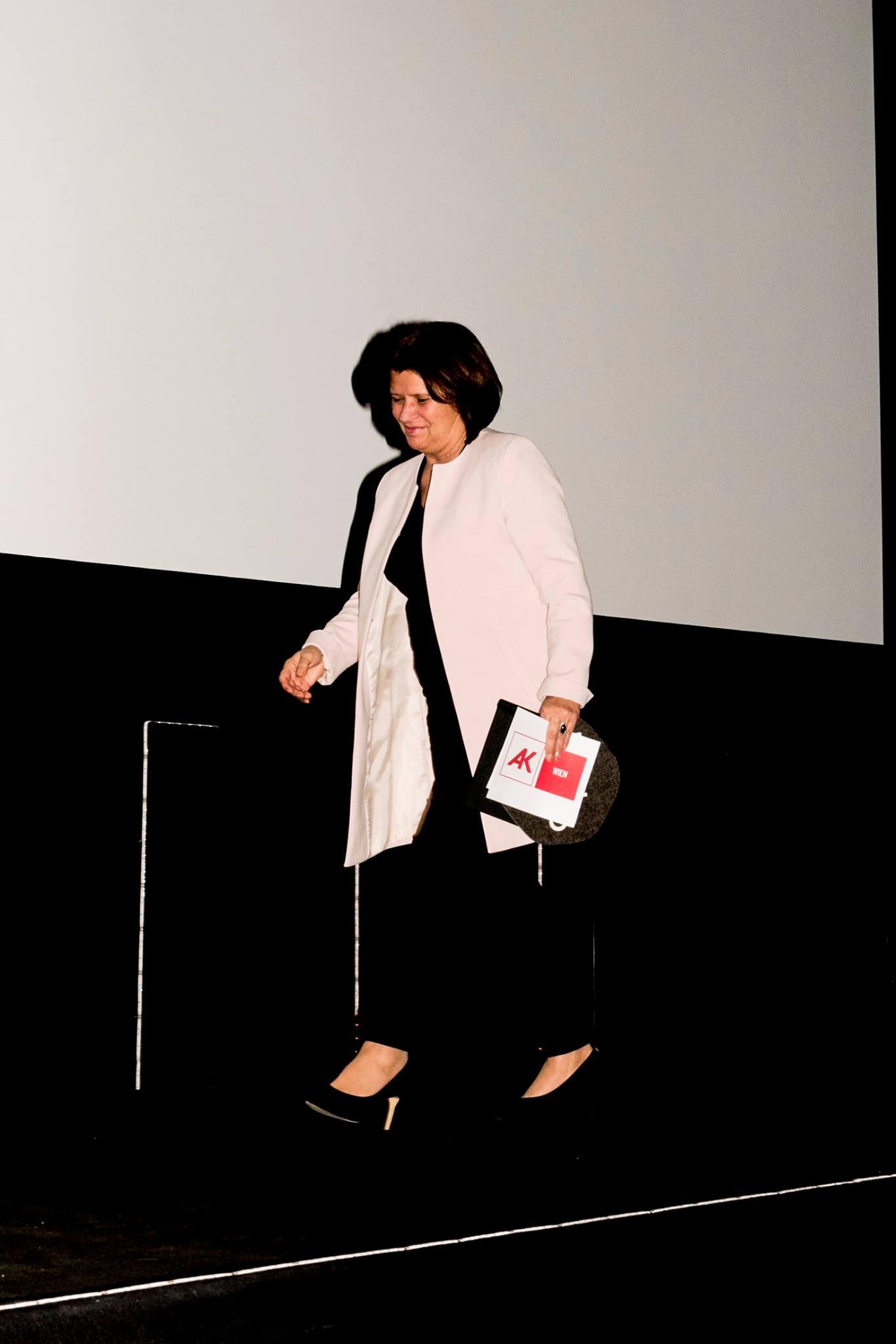 Präsidentin der Arbeiterkammer Renate Anderl  (Sponsoring Louise-Fleck-Preis)
