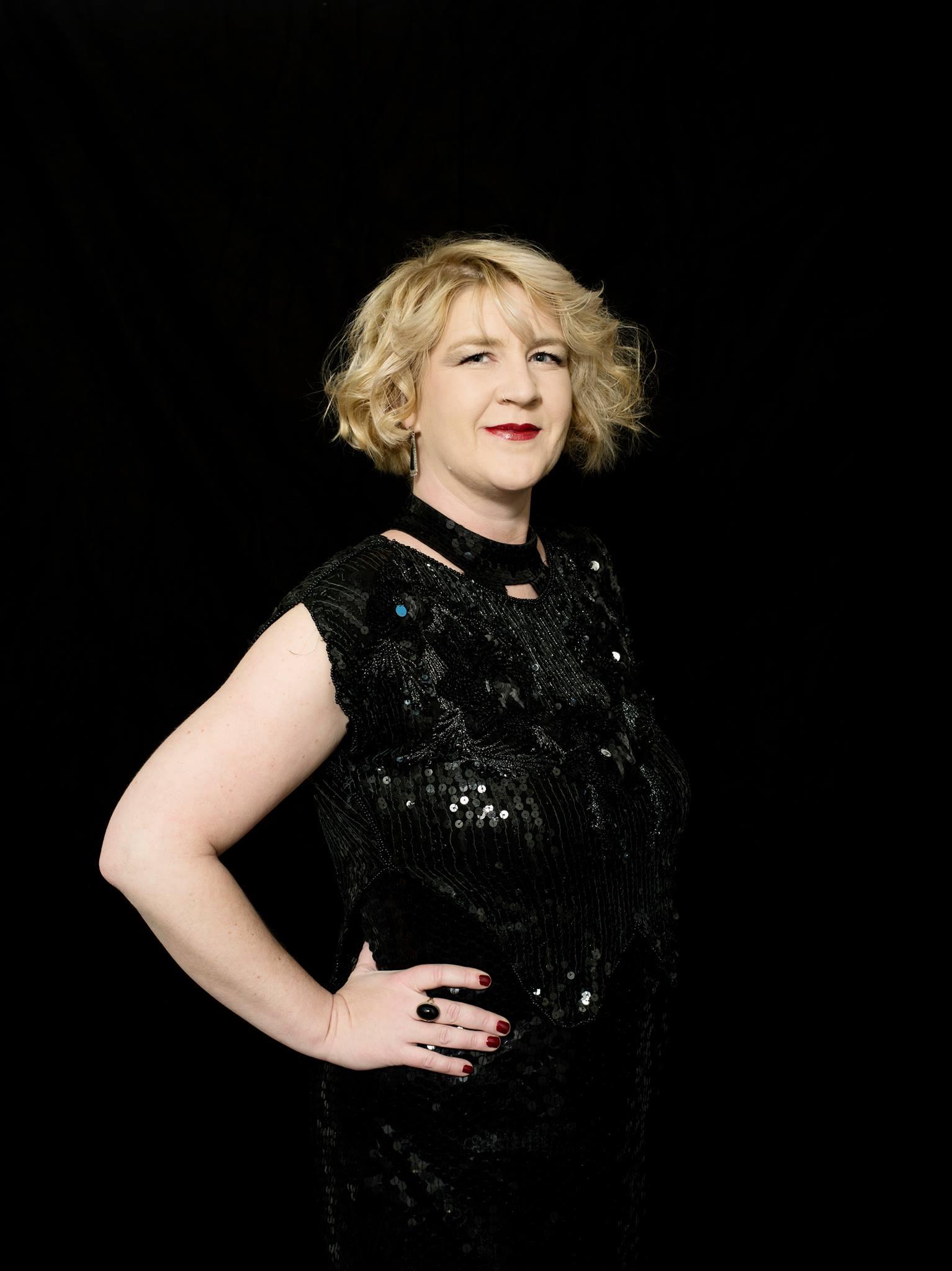 Moderatorin der Preisverleihung: Denice Bourbon
