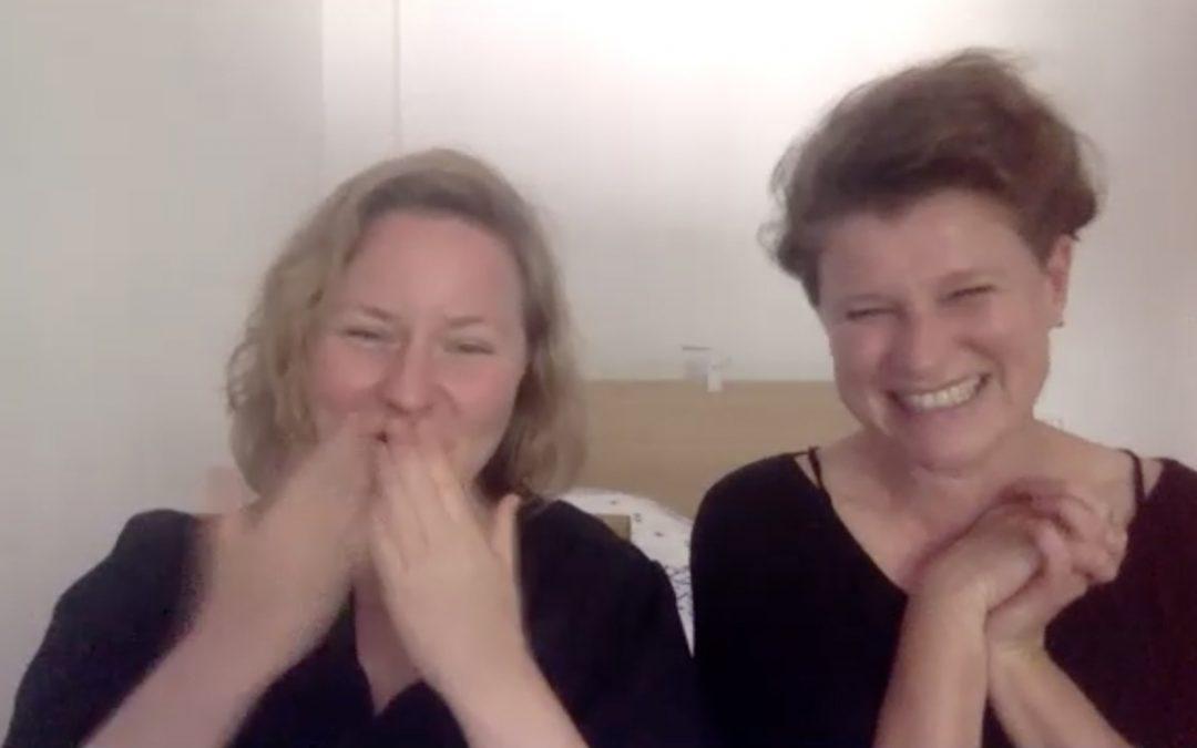 IF SHE CAN SEE IT, SHE CAN BE IT – Die Hauptpreisträgerinnen Anna Schwingenschuh und Evamaria Schaller