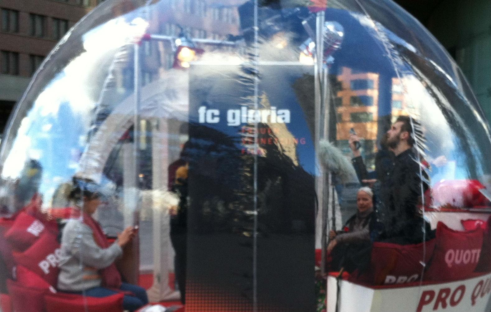 FC GLORIA @ Berlinale in der PRO QUOTE REGIE Bubble